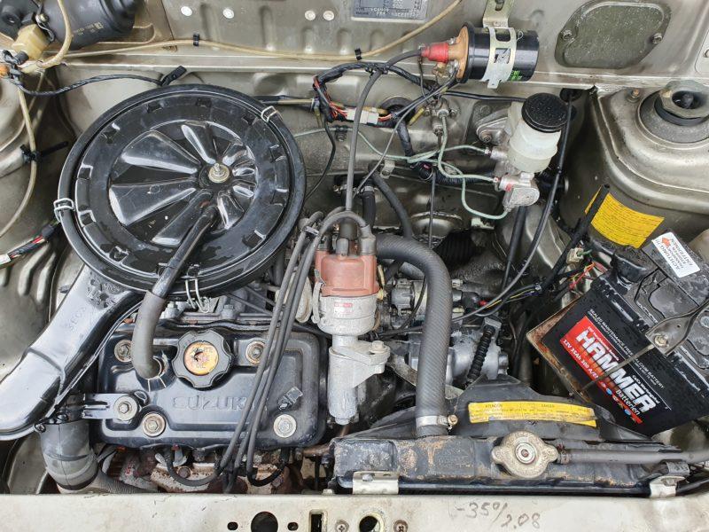 Suzuki Alto 0,8 ccm, 40 PS, EZ: 1987, TÜV neu, H-Zulassung