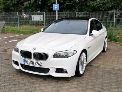 BMW 520d Anhängerkupplung v8 sound Tiefer Breiter Alpina Tausch